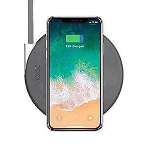 Noise MA-WC-SLIM004-STD-DGRY Fast Wireless Charging Pad (Slate Grey)