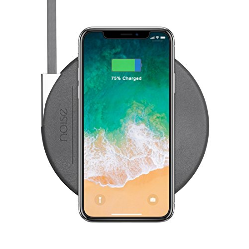 Noise MA WC SLIM004 STD DGRY Fast Wireless Charging Pad  Slate Grey