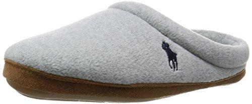 Polo Ralph Lauren - Jaque Scuff, Pantofole Uomo Grigio (Grey)