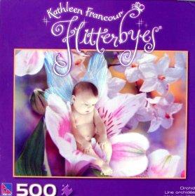 500pc. Kathleen Francour Flitterbyes Orchid Puzzle
