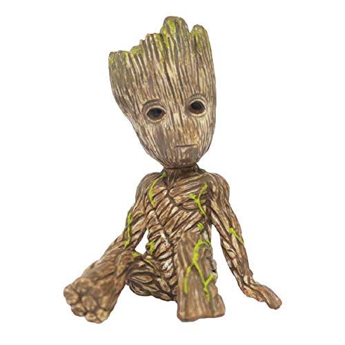 abai8981 Groot Puppe Guardians of The Galaxy Vol. 2 Groot Plüschtier Auto Dekoration Schreibtisch Dekoration