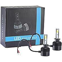 INTERNET 110W H1 COB CREE LED 16000LM Auto Kit de faros de coche de conducción bombillas lámparas 6000K