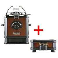 OTTIMO Coffee Bean Roaster J-100CR Home Roasting Machine with Coffee Cooler J-300C Barista Home Kitchen Cafe