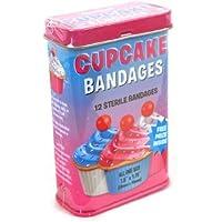 Cupcake plasters - pink tin - first aid in a tin by Worldwide preisvergleich bei billige-tabletten.eu