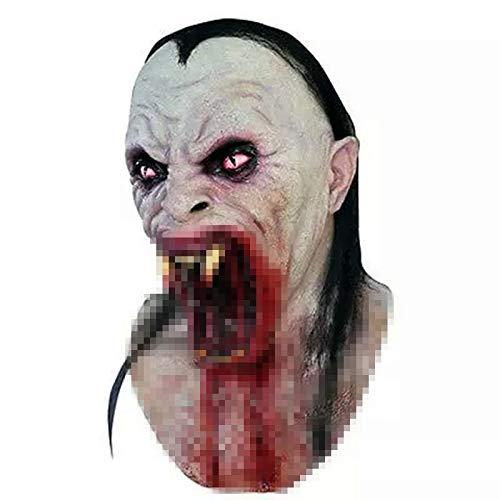 Taimei Vampir Horror Gruselmaske Mascaras de Latex Realista Halloween Monster Pinhead Latex Dämon Parasit Zombie Masken