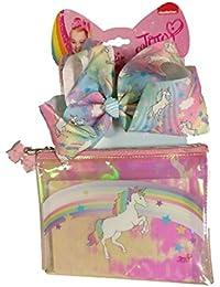 b60213785fee JoJo Siwa Accessory Set Bow with Cosmetic Bag