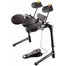 Logitech Wireless Drum Controller, Xbox 360 - Volante/mando (Xbox 360, Gamepad, Xbox, Inalámbrico, 2.4 GHz, 10 m, AA)