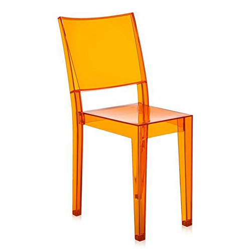 La Marie Dining Chair in Orange by Kartell