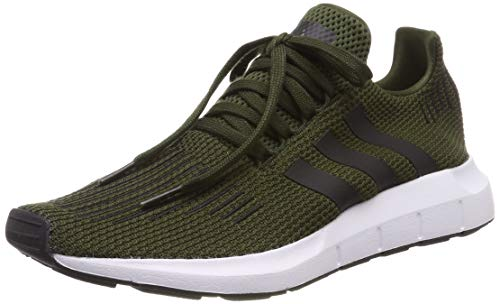 adidas Herren Swift Run Gymnastikschuhe, Grün (Night Cargo/Core Black/Ftwr White), 49 EU