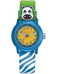 Esprit Jungen Armbanduhr Datum klassisch Quarz Leder ES106414032