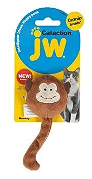 JW Jouet Cataction Catnip Singe Jouet à l'herbe à Chat/Chasser/Poursuivre