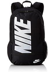 Nike Classic North, Mochila para Hombre, Negro/Blanco, 50 x 25 x 5 cm, 22 Liter