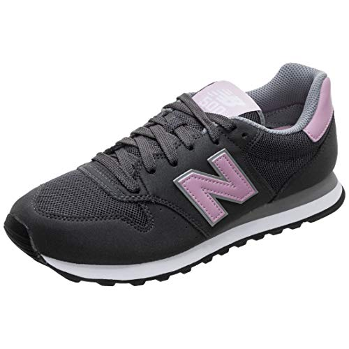 New Balance GW500-B Sneaker Damen dunkelgrau/pink, 9 US - 40.5 EU - 7 UK