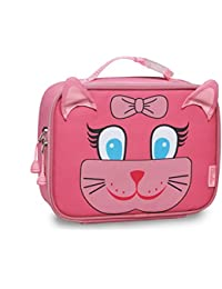 Little Girl's Kitty Pack Lunchbox Accessory, Pink, None