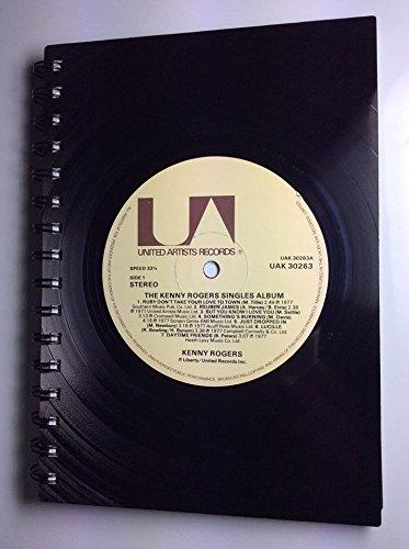 kenny-rogers-regalo-di-quaderno-a5-record-di-vinile