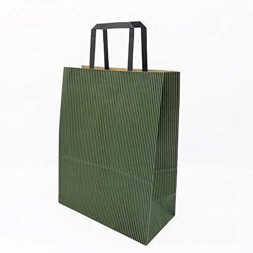LIUQIAN Allgemeine Kraft Papier Verpackung Tasche rechteckigen Kleidung Handtasche Backen Geschenk Tasche Einkaufstasche 25,4 * 12,7 * 33 cm
