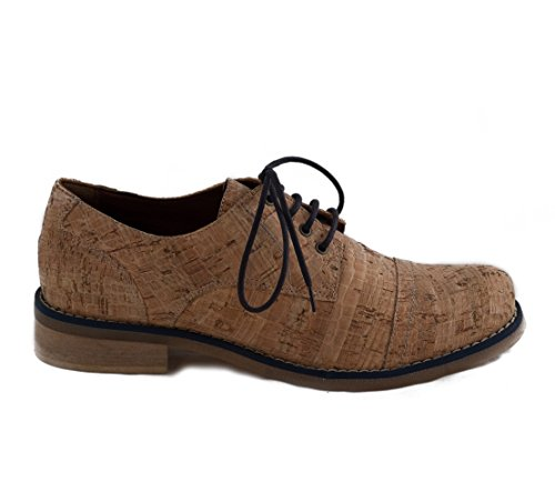 NAE Diana Kork Blau - Damen Vegan Schuhe - 2