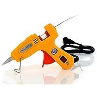 30 Watts Ultra- fast heating High Temperature Hot Melt Glue Gun with 10pcs Sticks [TE-HT001-07AB]