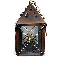 Lanterna di cherosene nostalgia retrò lampada in bronzo all'aperto tenda da campeggio di campeggio portatile della lampada lampada a sospensione - Olio All'aperto