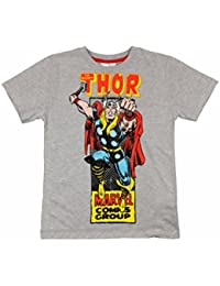 Avengers Boys T-Shirt Short Sleeved Top Hulk, Captain America, Thor