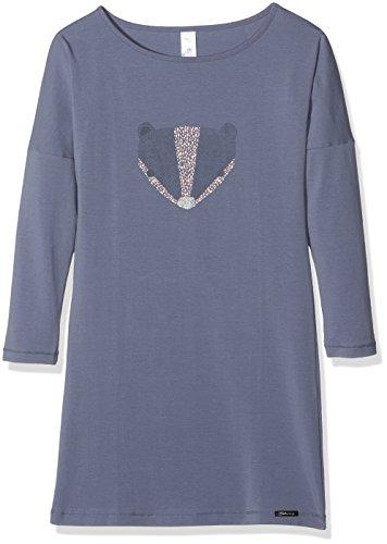 hemd Lovely Dreams Sleep Sleepshirt Langarm, Mehrfarbig (Dusty Blue 0342), 176 (Herstellergröße: 176) (Nachtwäsche Für Mädchen)