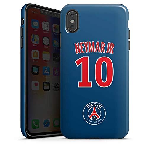 DeinDesign Apple iPhone XS Max Hülle Tough Case Schutzhülle Paris Saint-Germain PSG Trikot Neymar