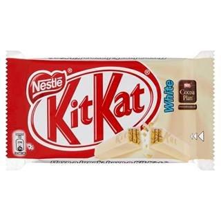 Kit Kat 4 Finger White 45G x Case of 24