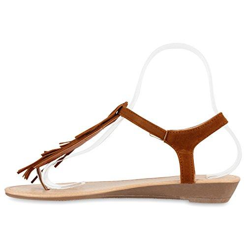 Sandálias Diane Matar Couro Sapatos Franjas Óptica Marrom Mulheres Tendência De qg7fww