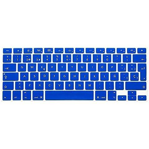 Wayes - española Cubierta del teclado / Keyboard Cover para MacBook Pro 13