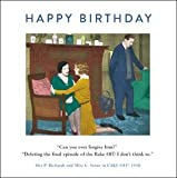 Bake Off Funny Drama Queen Birthday Greeting Card Retro Humour Cards