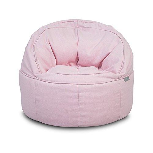 Jollein 028-576-65137 Sitzsack Beanbag Canvas rosa