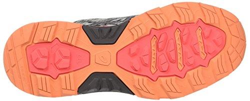 Asics Damen Gel-Fujitrabuco 5 Turnschuhe Grau (Midgrey/silver/diva Pink)