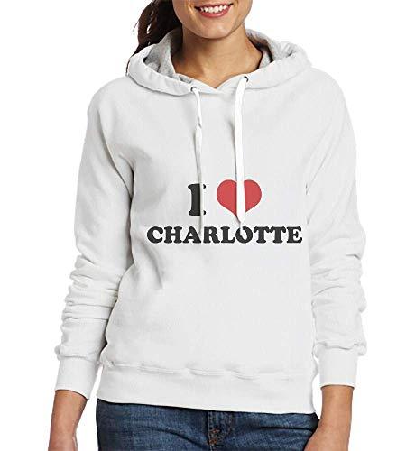 Laura Longman I Love Charlotte Custom Pullover Hoodie