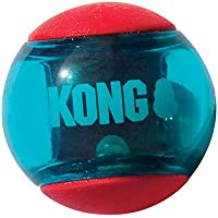 Kong JU04170 Squeezz Action Red Large