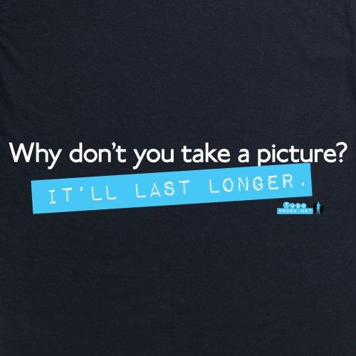 Tube Crush Last Longer T-Shirt, Herren Schwarz