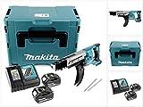 Makita DFR 750 RMJ 18 V Akku Magazinschrauber 45-75 mm im Makpac + 2 x BL 1840 4,0 Ah Akku + 1 x DC 18 RC Ladegerät