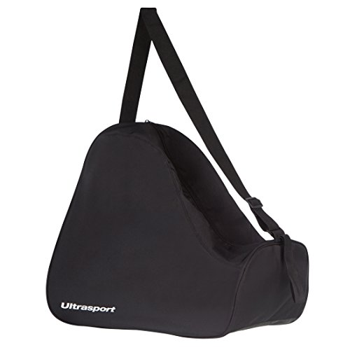 Ultrasport Inliner Tasche, 32 Liter, leichte Skate Bag für Rollschuhe und Inliner, XXL, auch als Schlittschuhtasche geeignet, Schwarz