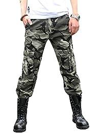 Brinny Adultes Combat Pantalons Treillis Militaire Cargo Armee Pantalon de Travail Multi Poches Coton Hasard en Dispose Comme Cadeau (Sans Ceinture) 9 Couleurs 9 Tailles