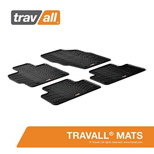 Travall® Mats Gummifußmatten - Original Travall® Zubehör TRM1102 - Allwettermatten nach Maß