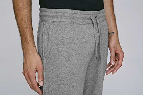 Maratus Herren Bio Joggingshorts Kurz Hose Fair Wear Mid Heather Grey