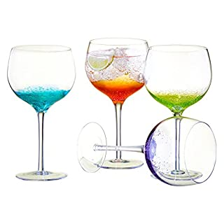 Anton Studio Designs Set of 4 Fizz Gin Glasses