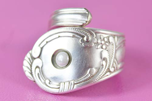 Rokoko Besteckschmuck Ring, Größe 63 (20,1) Besteck Schmuck