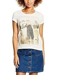 Only Onlgloria S/S Rebel/Love Top Box Ess, Camiseta para Mujer