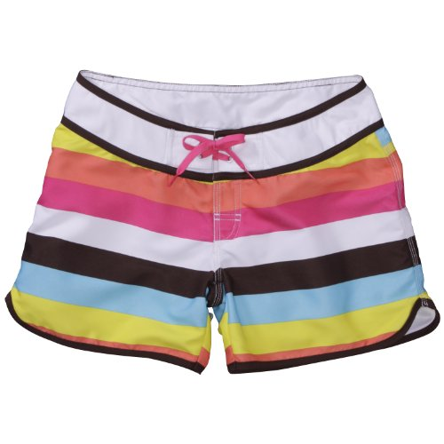 Chiemsee Dionne Femme surfshorts Multicolore - Rouge corail vif
