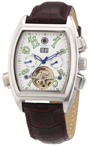 Constantin Durmont Men's Watch Tonneau CD-TONN-AT-LT-STST-WH
