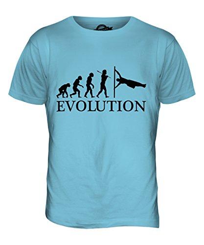 CandyMix Menschliche Flagge Evolution Des Menschen Herren T Shirt Himmelblau