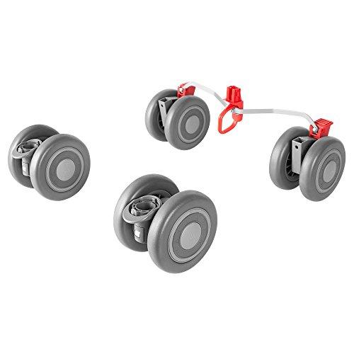 Preisvergleich Produktbild Quest Front and Rear Wheels Silver