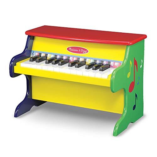 Melissa & Doug Lerne mit 25 Tasten und einem farbcodierten Liederbuch das Klavierspielen (Musikinstrumente Und Doug Melissa)