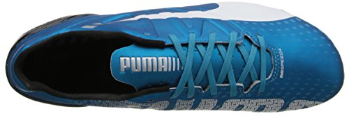 Puma Evospeed 2.3 sol ferme Chaussures de football Hawaiian Ocean / White / Black