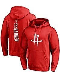 Houston Rockets James Harden #13 Sudadera con capucha Hombres Jóvenes Name & Number Deportes Baloncesto